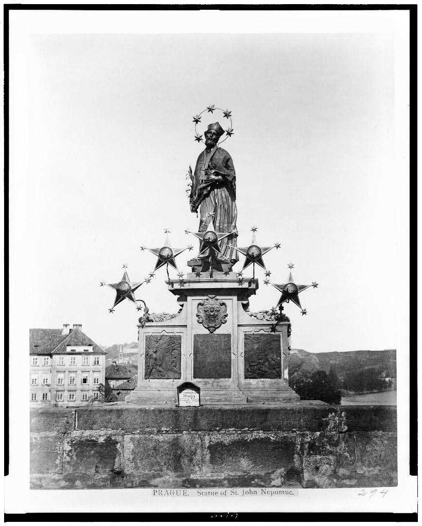 Prague in 1860.