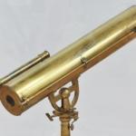 19th-century telescope based on Kepler's design