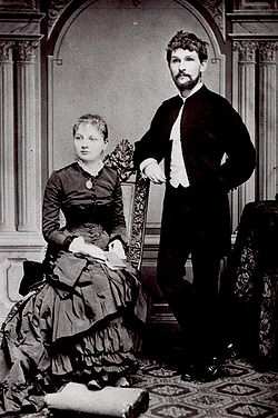 Janacek with his wife