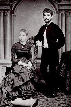 Janacek with his wife