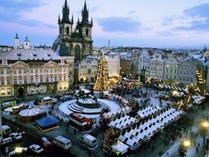 Prague in process