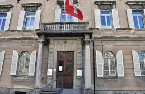 The Swiss Criminal Court in Bellizona