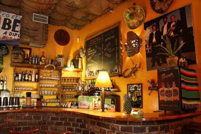 Top 5 Latin bars in Prague