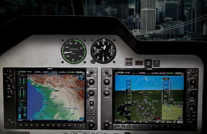 Control panel on a Bell 407GX. Photo: Bell Helicopter