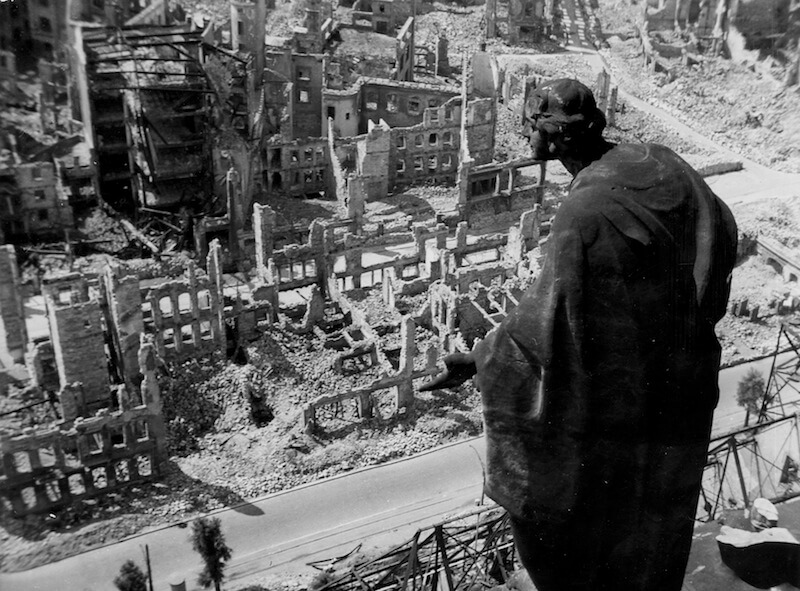 bombing of Prague 1945