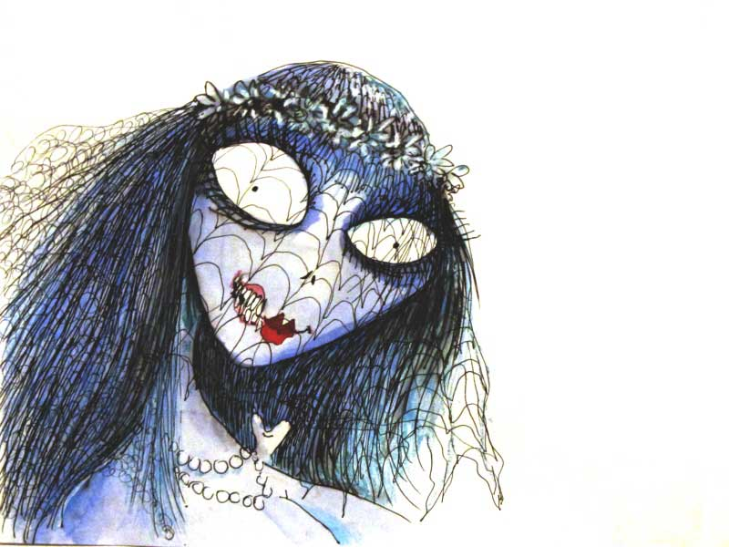 The Corpse Bride by Tim Burton