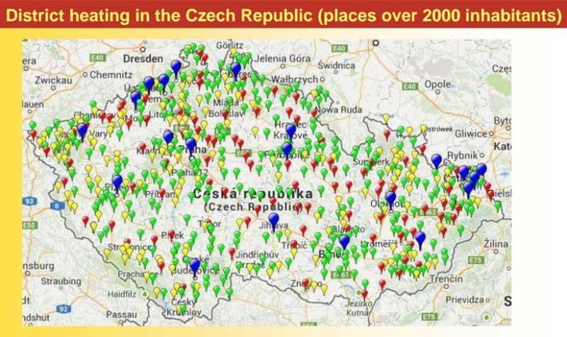district heating in Czech Republic