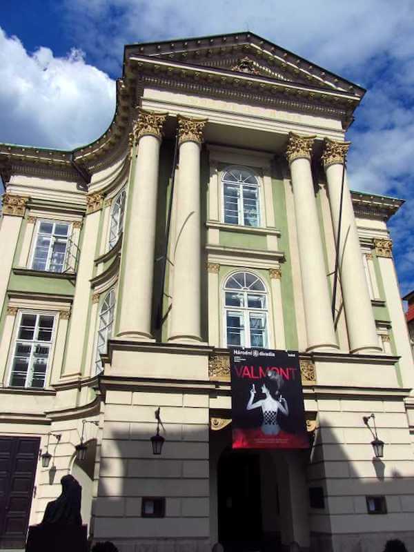 Mozart estates in Prague