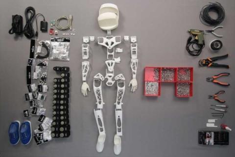 poppy the printable robot