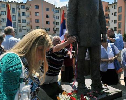 Statue of Assassin Gavrillo Princip