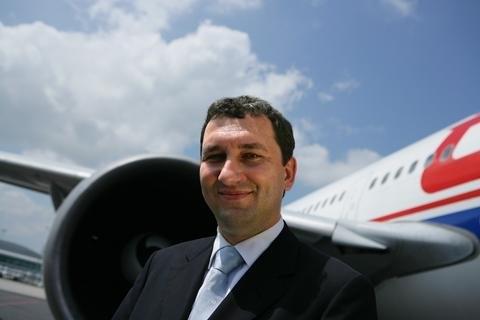 ČSA board Chairman Miroslav Dvořák