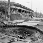 Grbavica after war - Bosnia