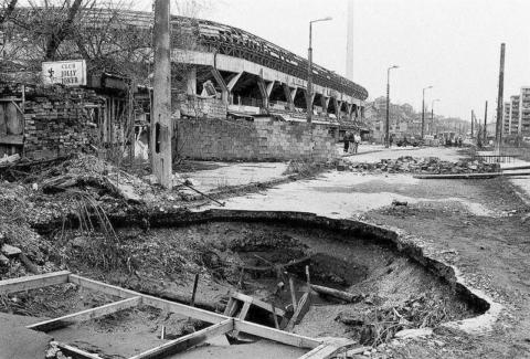 Grbavica after war