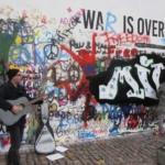 Lennon Wall Prague