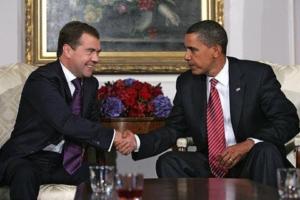 Obama Medvedev