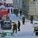 Prague explosion