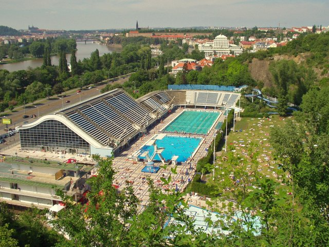 Podolí Swimming Pool