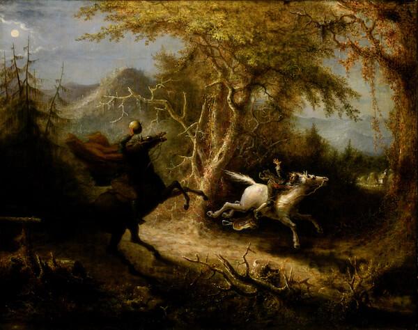 The Headless Horseman - Image Wikipedia