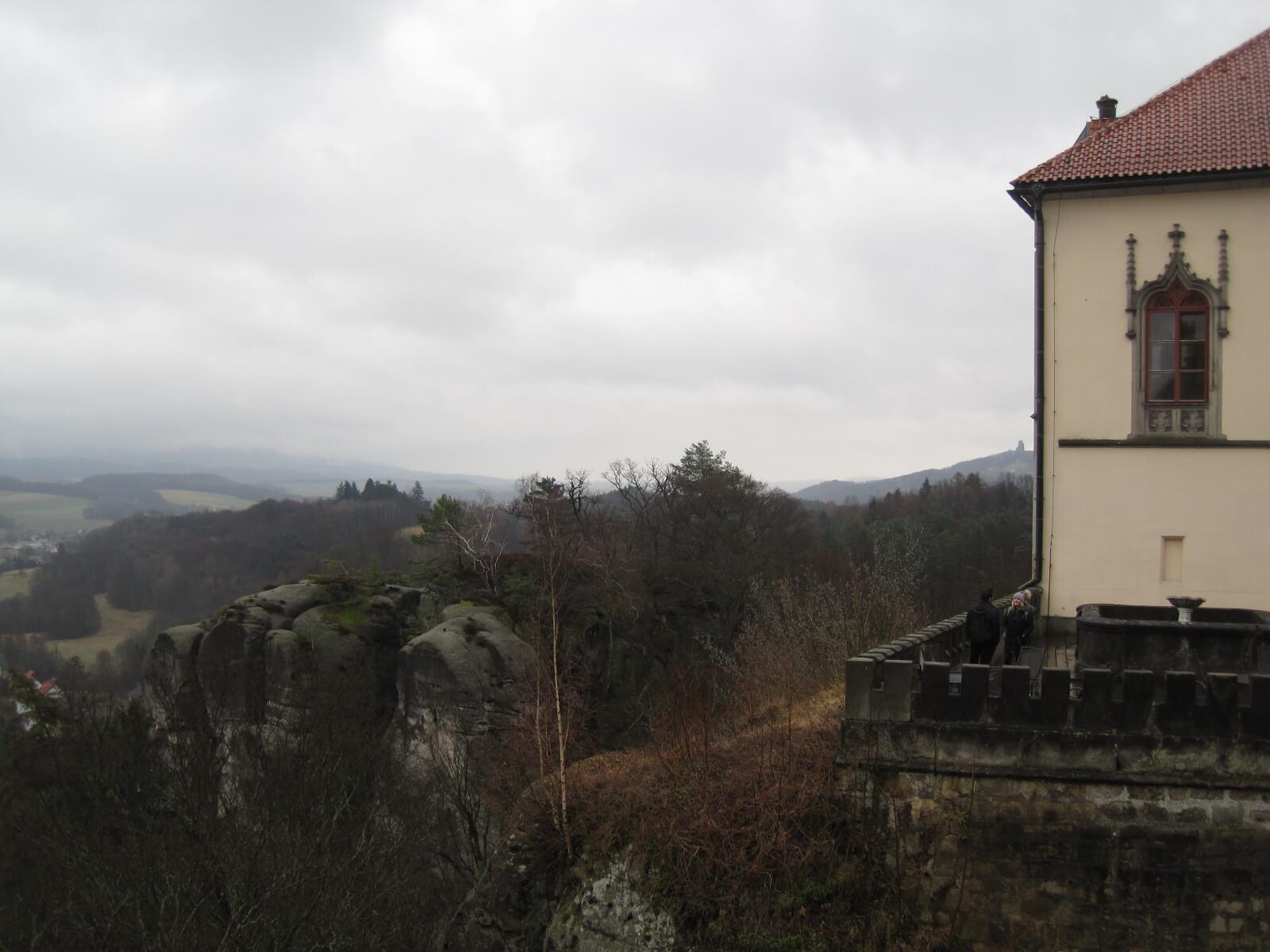 Malá Skála Castle Panorama