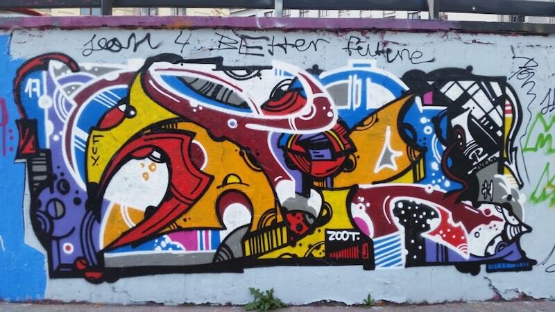 Prague street art