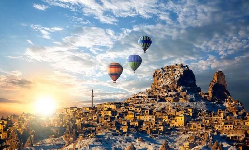 luxurious romantic getaway Cappadocia