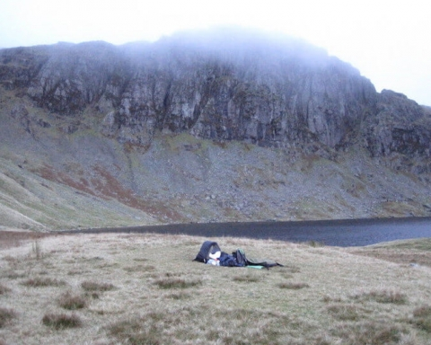 Wild camping in England's Lake District