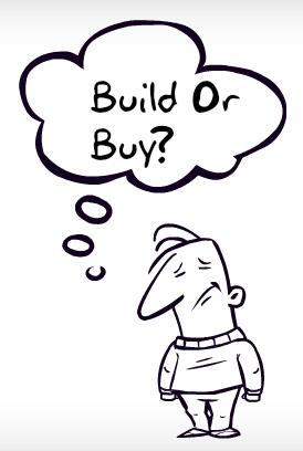 Build vs Buy custom software