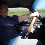Richard Hammond behind wheels