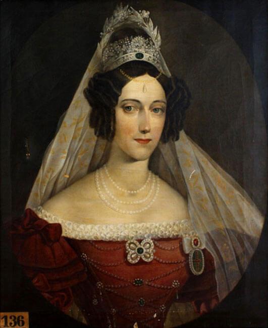 Maria Anna Empress of Austria By Caspar Jele