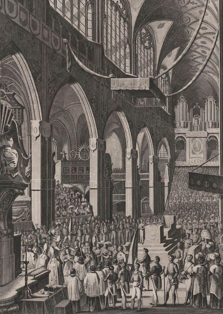 Maria Anna coronation