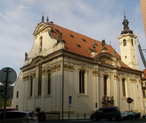 The Church of St Simon and Jude in the Old Town Prague