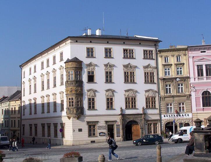 The former Black Eagle at Olomouc