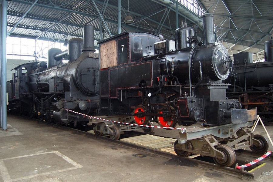 old railroad locomotive