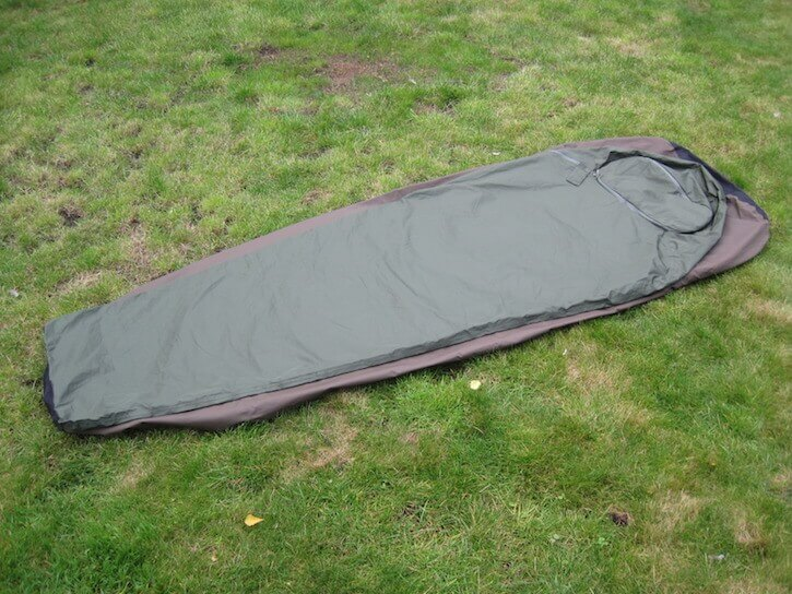 Some other bivy bags, such as the Wild Country Scout also shown in this image, offer a bit more room.