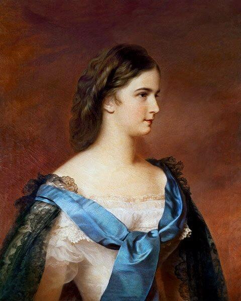 Empress Elizabeth by Franz Schrotzberg