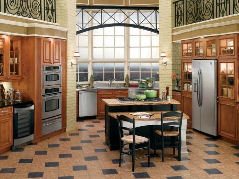 cork flooring kitchen