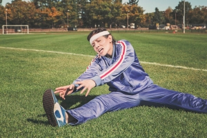 stretching fitness sports
