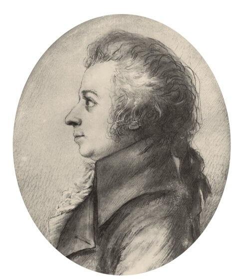 Drawing Mozart