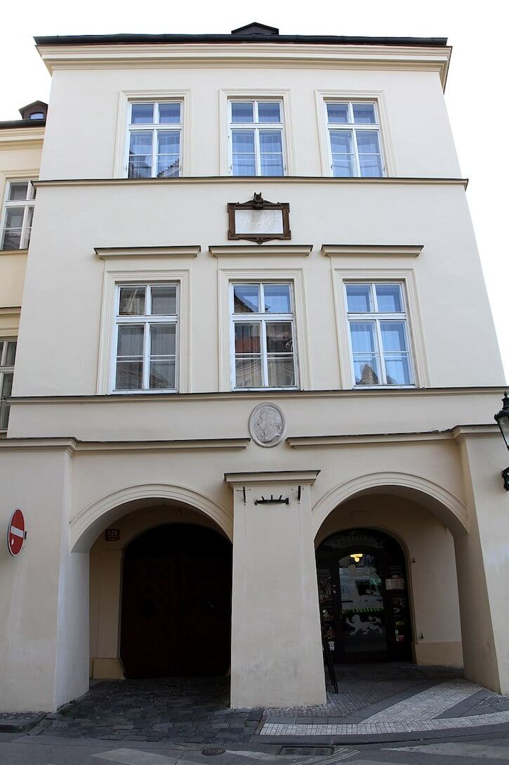 The House of the Three Golden Lions, Prague Old Town