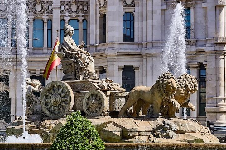 Madrid Kybele Statue
