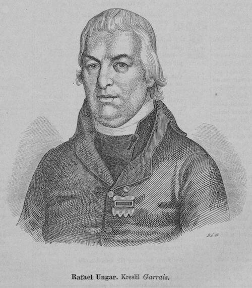 Rafael Ungar, 1864