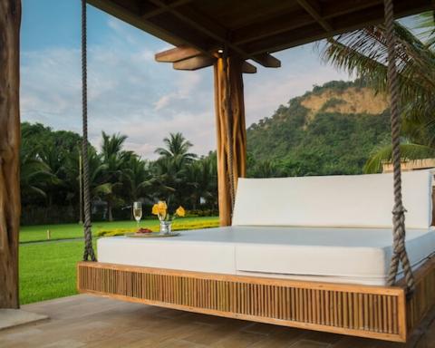 mattress outdoors