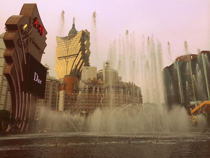 Macau water show