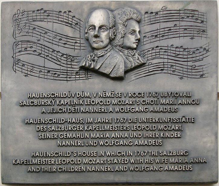 Mozart Lettere: Mozart In Olomouc