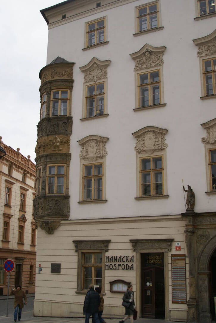Olomouc Dolni Namesti View