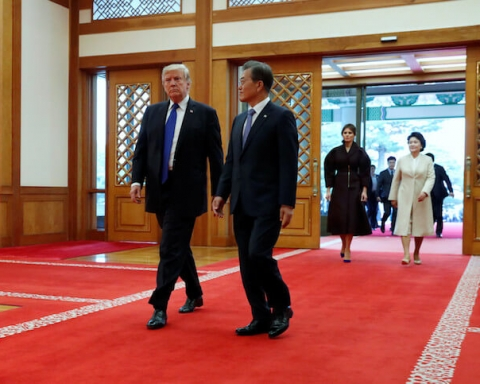 Trump - Moon Jae-in meeting