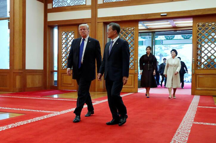Trump - Moon Jae-in meeting
