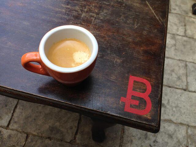 coffee for bitcoin