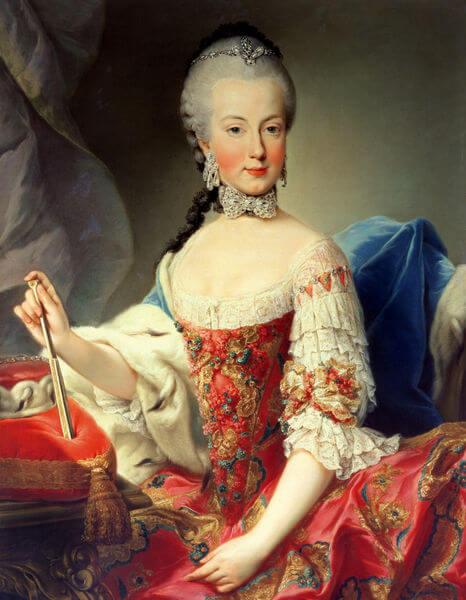 Maria Amalia of Habsburg Lorraina Parma in Prague
