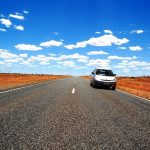 car on road australia